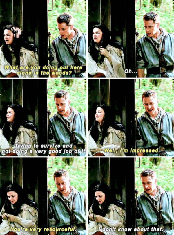 "Snow White and David - 6 * 7 ""Heartless"" #Snowing"