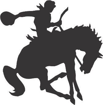 Силуэт лошади AU