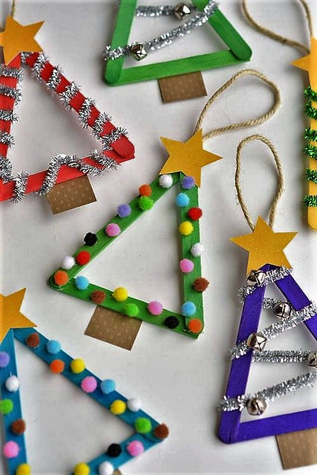 If you are anxiously waiting for Christmas day to arrive, then these amazing crafting activities will make the wait all the worthwhile. One the best ideas would be to make use of ice cream sticks, paint them in bright colors and decorate them with cool Christmas decorations. Make use of candy sticks and other items to create innovative, cool crafts.