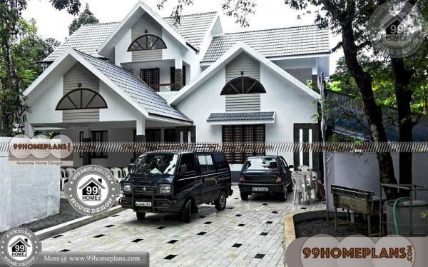 New Two Story House Plans 60 Traditional Home Designs In Kerala Two Story House Plans New House Plans House Design Photos