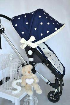¿Sabes que puedes #personalizar la vestidura de tu silla de paseo con #Peposa? Tu eliges.  💙 #qnmbb #personalizadas #silladepaseo