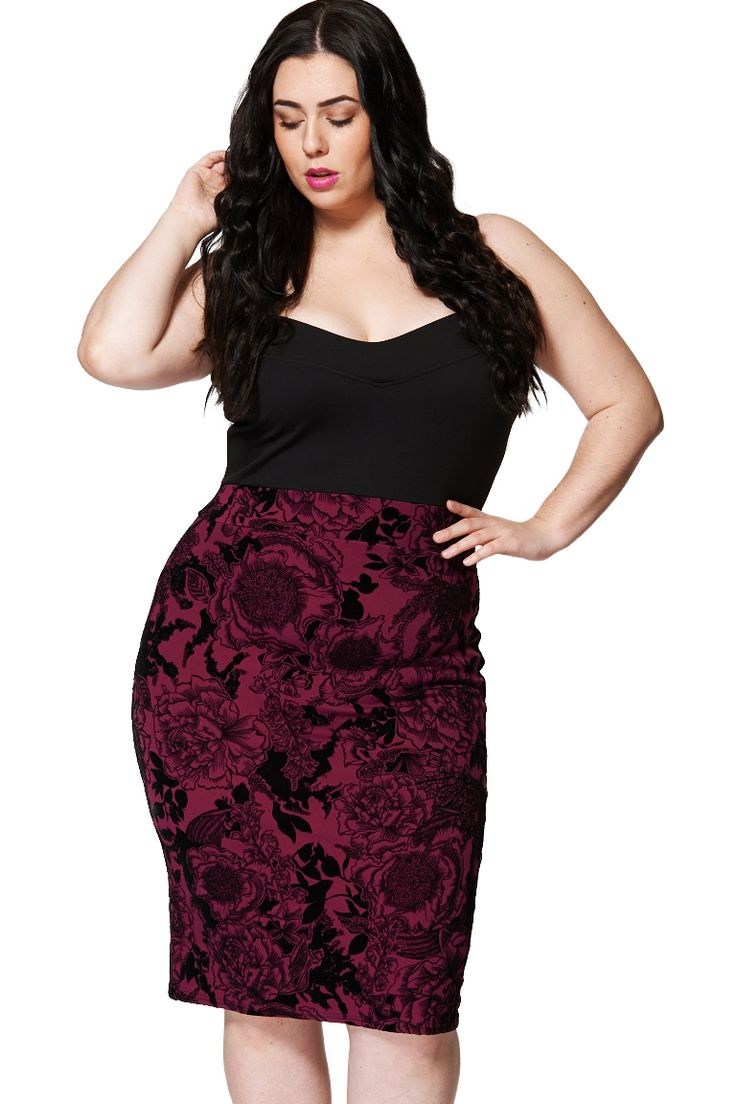 ScottyDirect - Floral High Waisted Sweetheart Neck Bodycon Dress, $55.95 (http://www.scottydirect.com/floral-high-waisted-sweetheart-neck-bodycon-dress/)