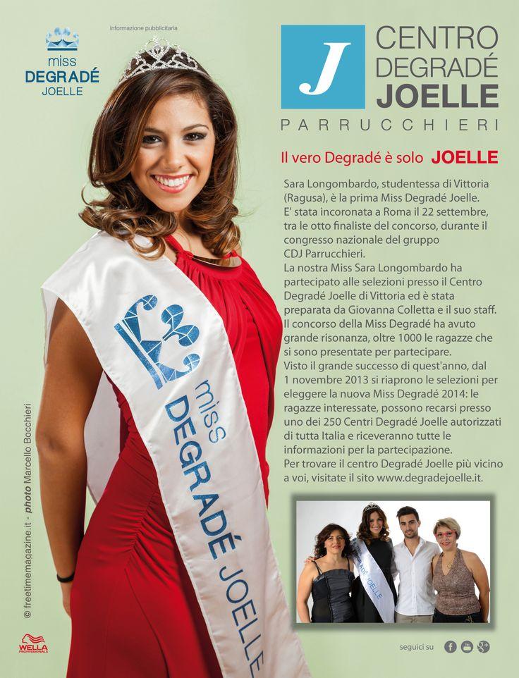 CDJ e Miss Degradé 2013 per Amica di Dicembre 2013 #cdj #degradejoelle #rivista #siparladinoi