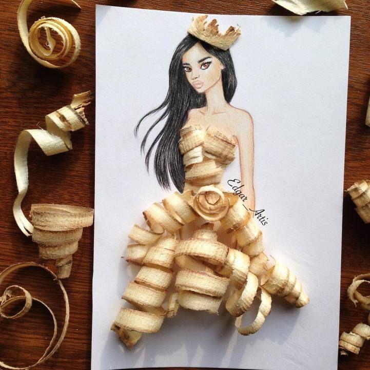 Elle crée des robes au style unique en utilisant des objets du quotidien - page 2