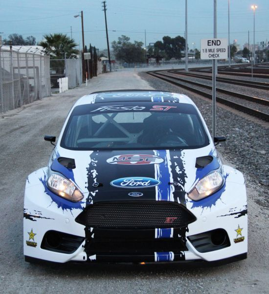 Ford Fiesta ST Global RallyCross Championship Race Car Picture #1, 2013