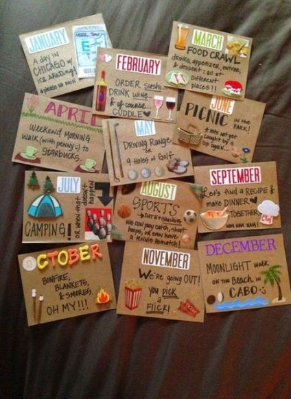 19+ ideas for gifts for boyfriend long distance diy
