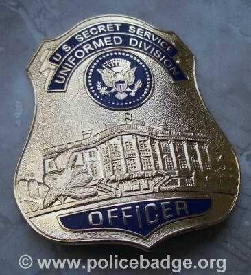 Badge US Secret Service Unif. Division, via Flickr.