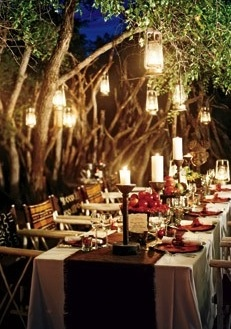 .: Decor, Ideas, Forests Wedding, Enchanted Forests, Weddings, Outdoor, Forest Wedding, Dinners Parties, Lanterns