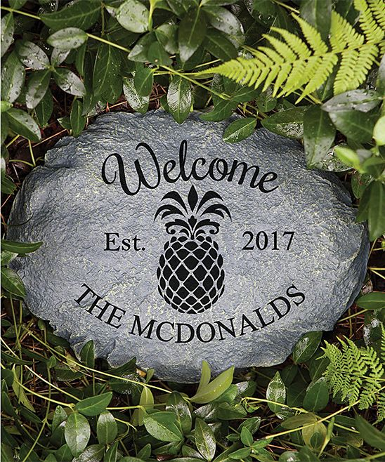 17 best ideas about personalized garden stones on - Personalized garden stepping stones ...