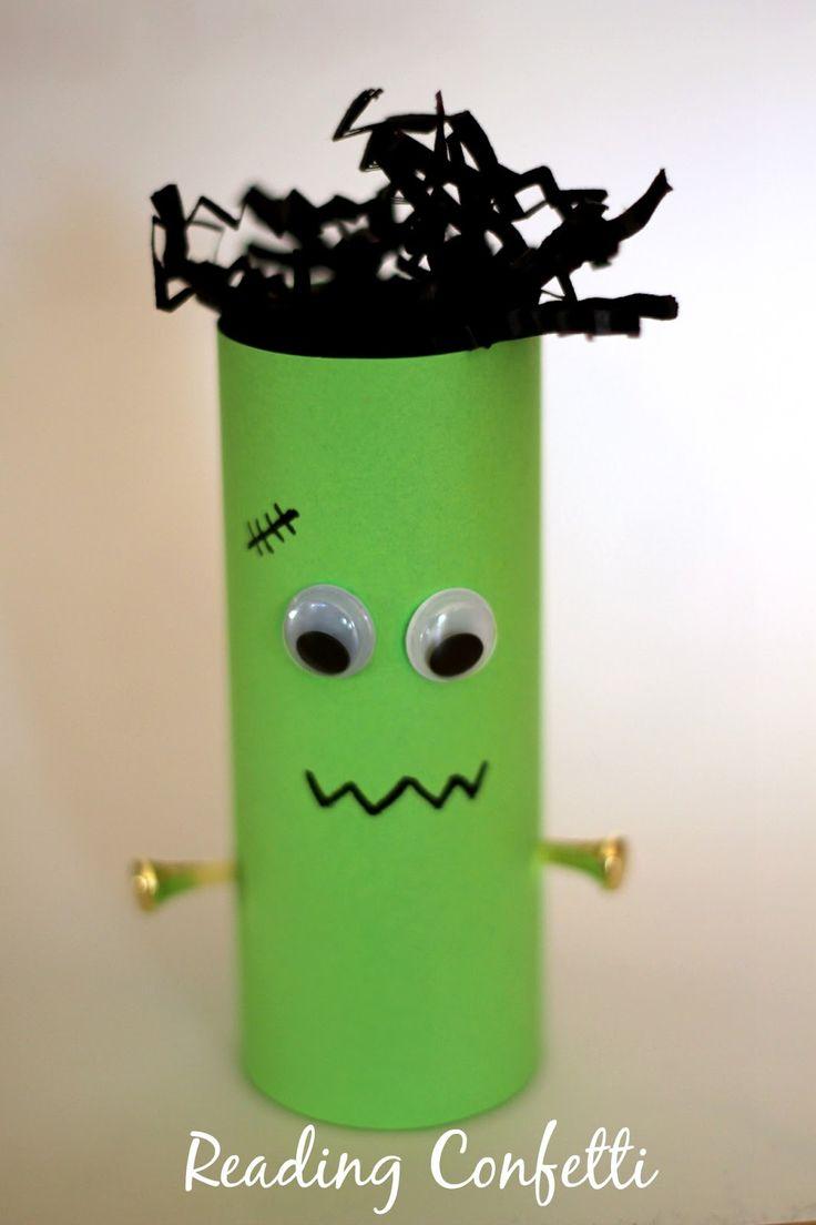 Kid Craft - TP Roll Frankenstein
