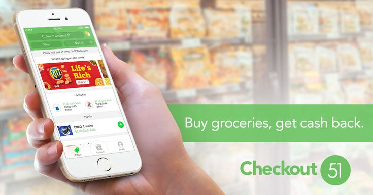 Save on the brands you love with Checkout 51: Get new offers weekly, buy from any store, snap a photo of the receipt and earn cash back!