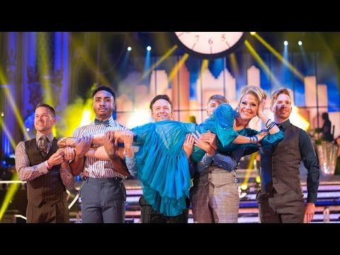 Kellie Bright & Kevin Clifton Quickstep to 'Nine To Five' - Strictly Come Dancing: 2015 - YouTube