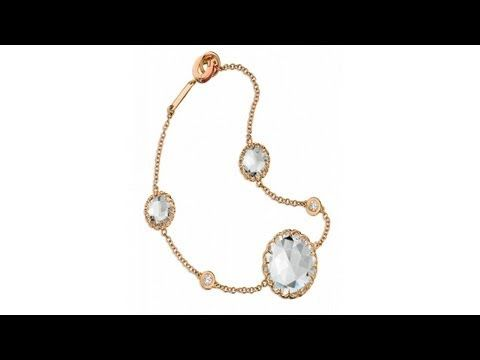 To buy now click on the link: http://shrsl.com/?~3frh The #Ivanka #Trump #Rose #Gold #Chain #Bracelet features #18k rose gold chain with #rock #crystals and #diamonds. Bracelet has a total length of 7.5 inches. Fit a small to medium size wrist. Ivanka Trump launched her fine #jewelry #collection in 2007 by combining her innate understanding of #modern #luxury with a vision of heirloom-chic jewelry inspired by the #best #classic #styles of all times.
