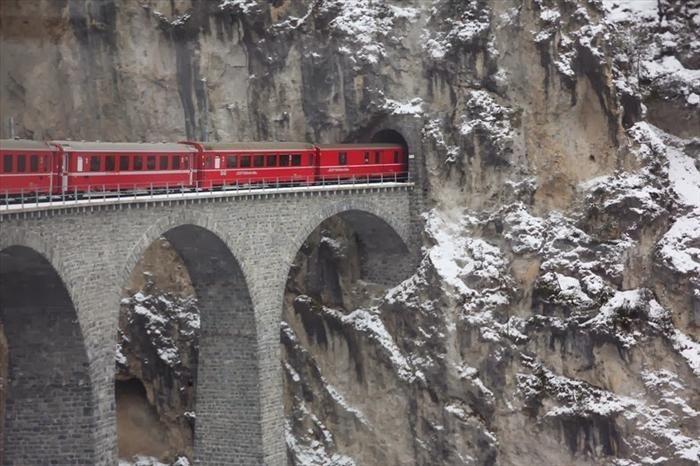 scenic train rides| Glacier Express>