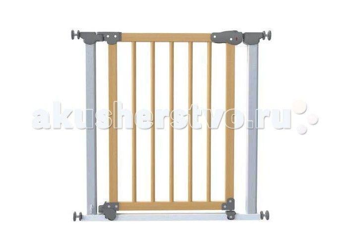 Safe&Care Ворота AUTO 77-83.5 см  Ворота AUTO Safe&Care с дозакрывателем дверцы на распорках 77-83.5см быстро и надежно устанавливаются в дверные и лестничные проемы, по принципу распорок.    Особенности:    Ворота безопасности не требуют крепления в стены, поэтому после демонтажа не оставляют следов.   Оснащены механизмом автоматического закрывания калитки.  Подходят для дверных проемов 77-83,5см (с 6-тью дополнительными элементами удлинения до 127,5см  Уникальный магнитный замок  Цвет…