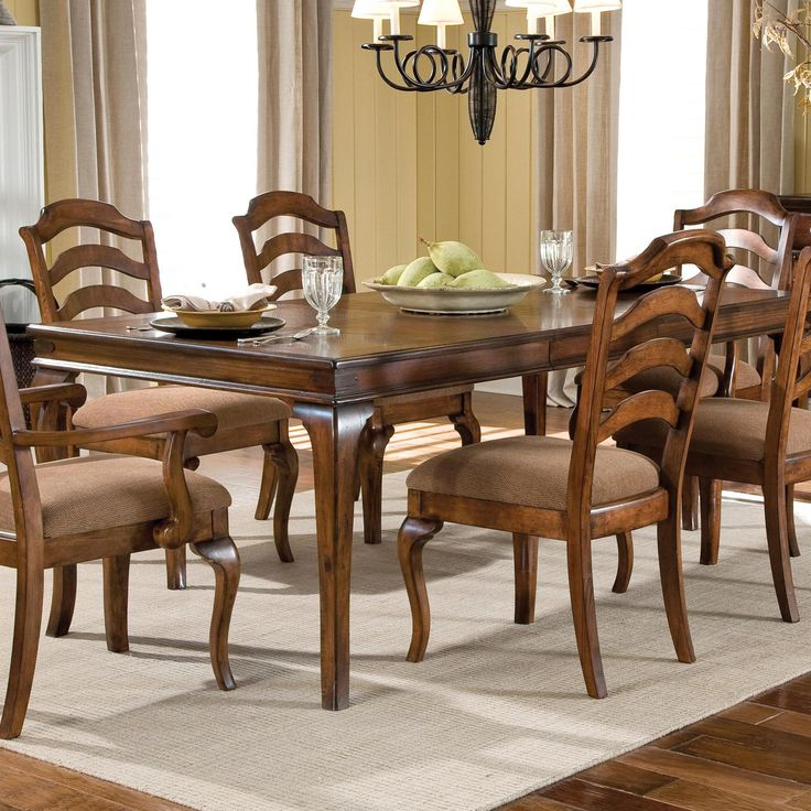 Crossroad Rectangular Dining Table By Standard Furniture