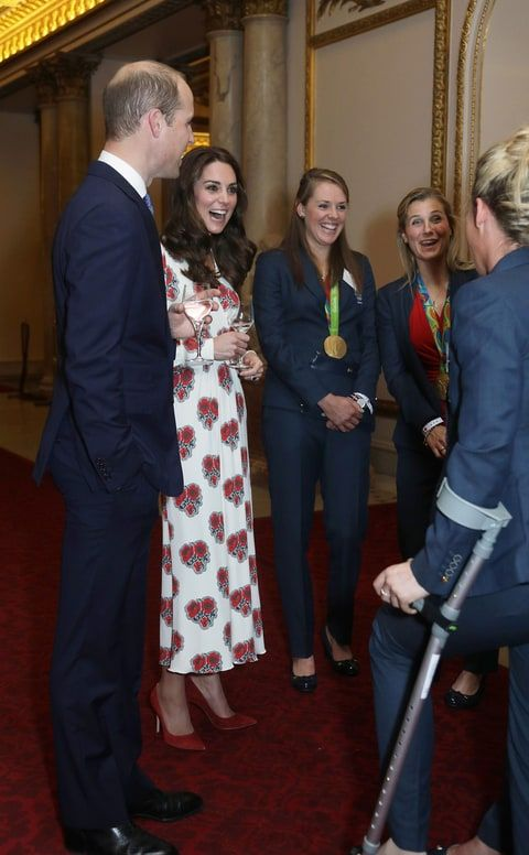 Susannah got Kate Middleton's seal of approval at the event too