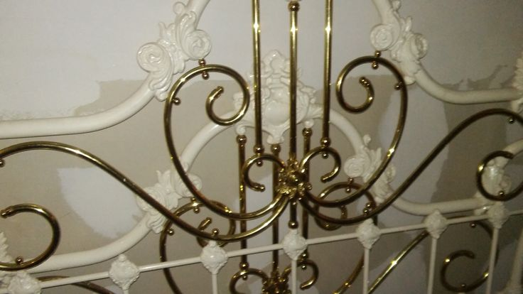 Beautiful Brass bed one of a kind by California artist ...