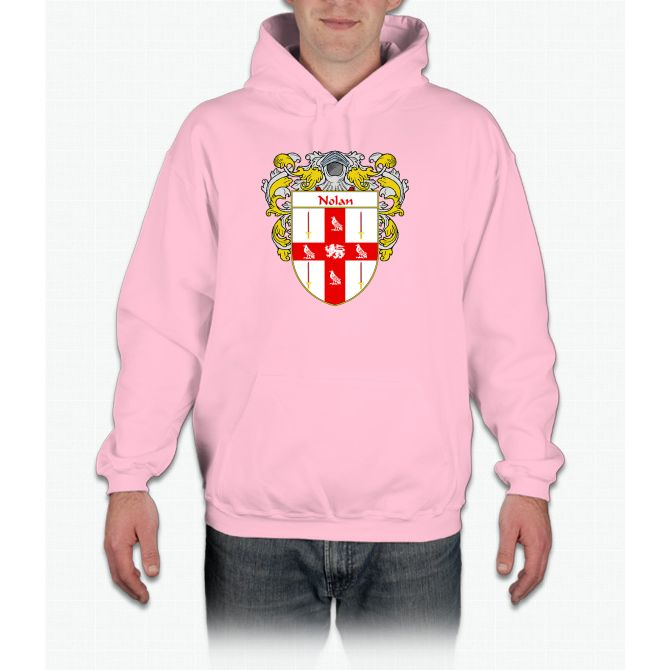 Nolan Coat of Arms/Family Crest Hoodie