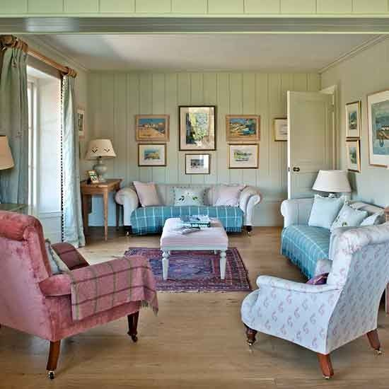 Living room | Devon modern country house | House tour | PHOTO GALLERY | Country Homes and Interiors | Housetohome.co.uk