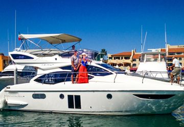 40' Azimut Yacht Cabo Luxury Yacht Charters, Los Cabos Boat Rentals, Yacht C…