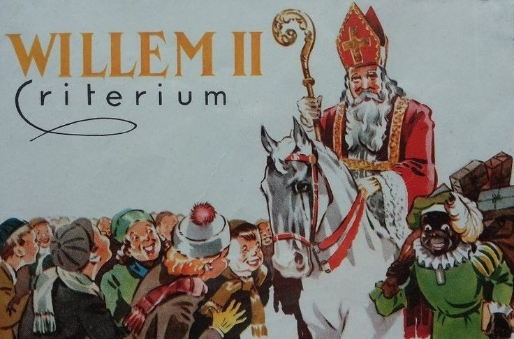 Sinterklaas verzamelaar (a) etiket