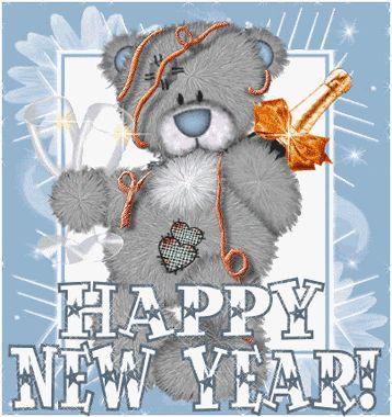 Happy new year glitter gifs