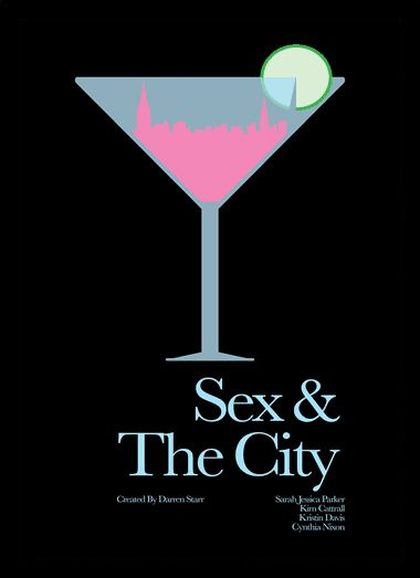 Quadro Poster Series Sex and the City 11 - Decor10