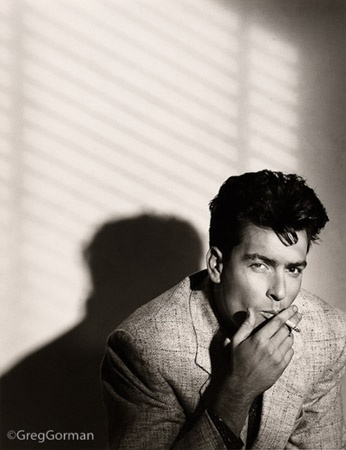 Charlie Sheen, Los Angeles 1987
