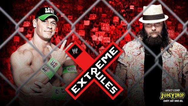 John Cena VS Bray Wyatt Extreme Rules 2014 Match Preview   Courtesy - wwe.com