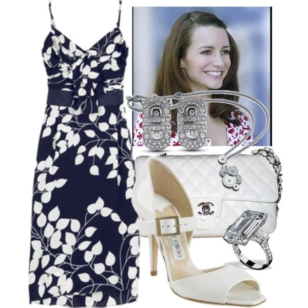 """Charlotte York Goldenblatt"" by ninascloset on Polyvore"