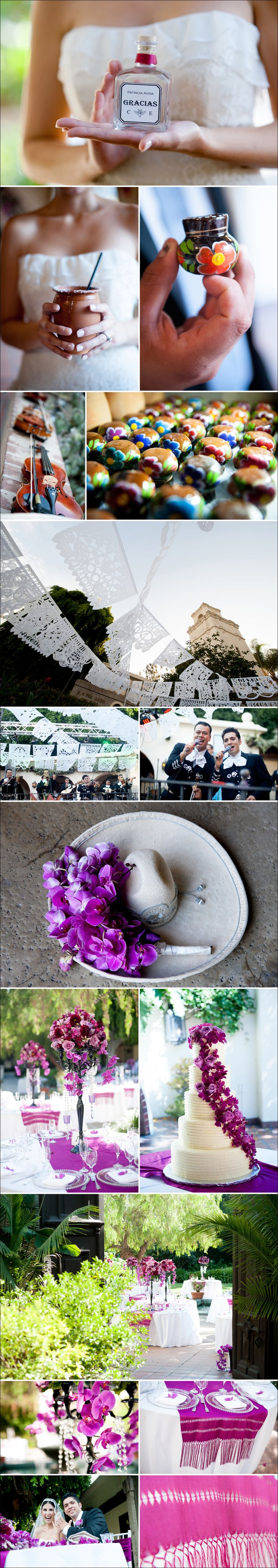 CE0261 Cristy and Eli Mexican Elegance, LA River Center and Garden Wedding Photos