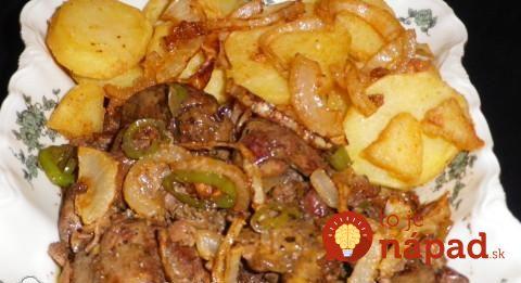 Lacné, rýchle a také chutné: Jemne pikantné pečienky s cibuľkou a zemiakmi!