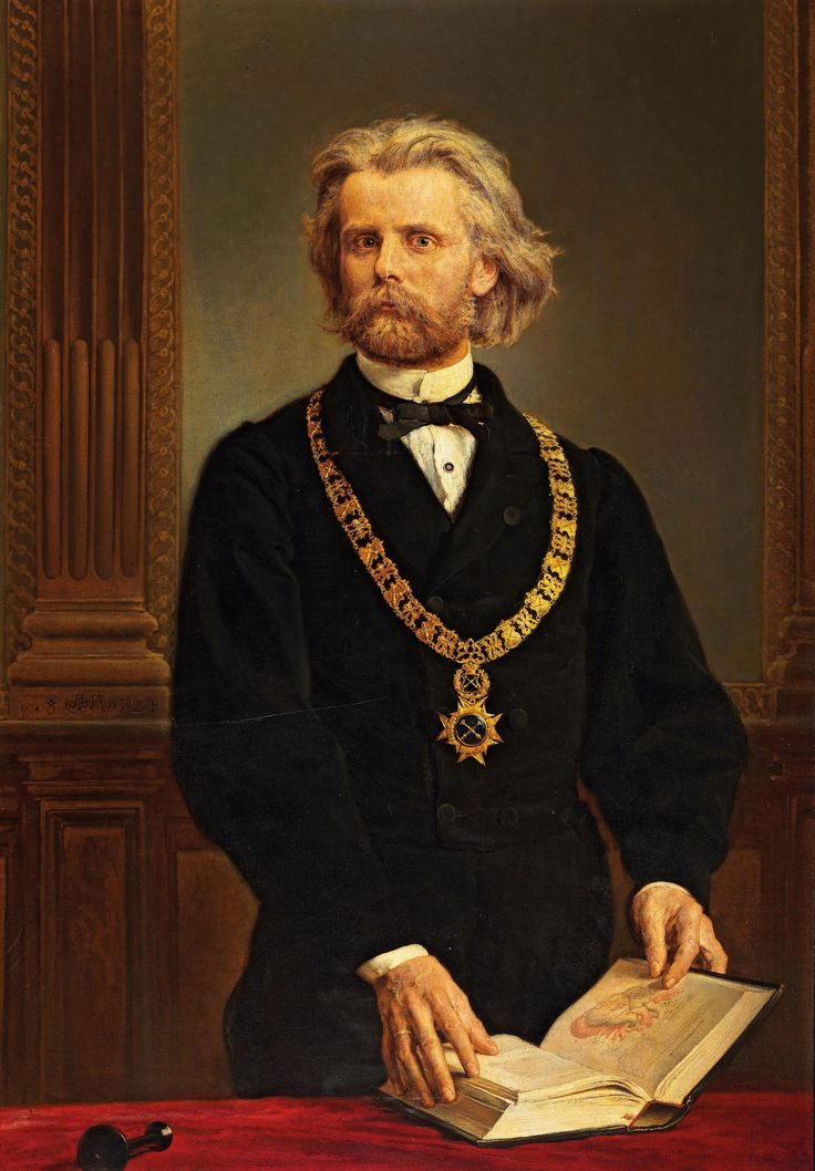 Portrait of Professor Karol Gilewski, M.D. by Jan Matejko, 1872 (PD-art/old), Muzeum Narodowe w Krakowie (MNK), lost during World War II, recovered from Austria in 2015