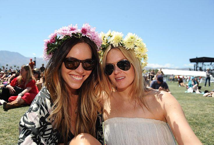 Coachella floral gowns