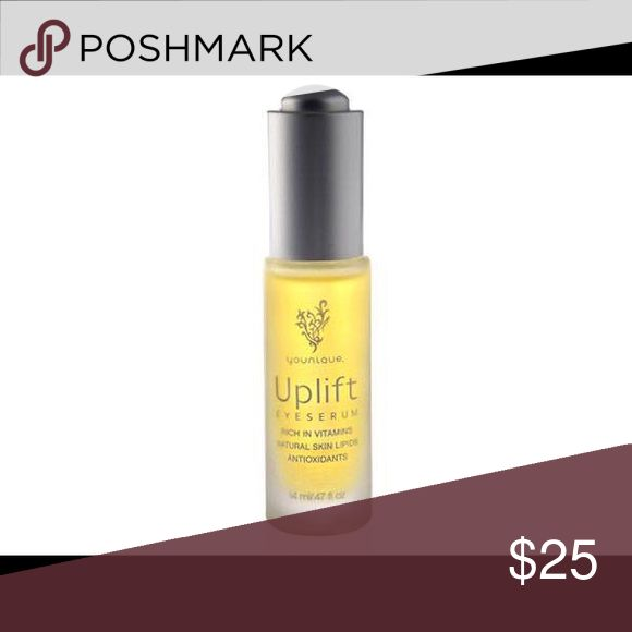 Younique Uplift Eye Serum Hydrate and nourish your skin with a silky-smooth serum formulated with squalane, CoQ10, and vitamins C and E. This luxurious oil soaks into your skin without leaving an oily residue and helps to minimize the appearance of fine lines and wrinkles.  These are gently used, sanitary products from my kit. I simply don't need to haul all of these colors with me when I do freelance jobs!! Makeup