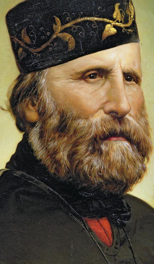 18x30 metal print $185 Giuseppe Garibaldi Painting - Giuseppe Garibaldi by Unknown