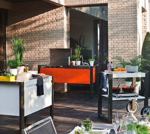 93 Best Modular Kitchens Images On Pinterest: 25+ Best Ideas About Modular Outdoor Kitchens On Pinterest