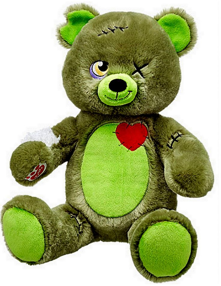 Build a Bear Halloween Zombear Zombie Teddy Stuffed Plush Toy Animal New with Tags In Stock Now at https://www.bonanza.com/booths/TweetToyShop