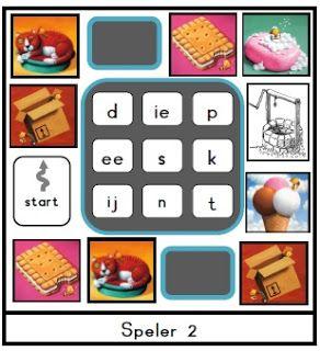 Juf Shanna: Veilig Leren Lezen: Kern 3, bingo