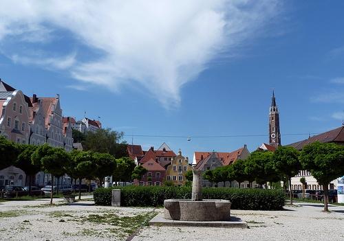 Landshut Standort vor St. Jodok