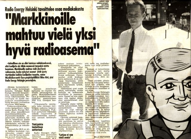 Starting Radio NRJ in Finland...-95