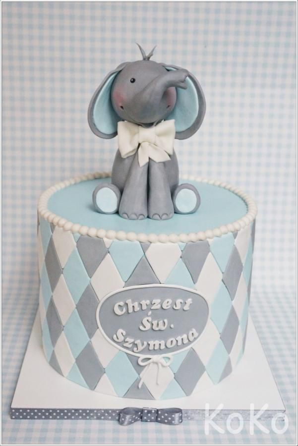 Elephant - Cake by KoKo