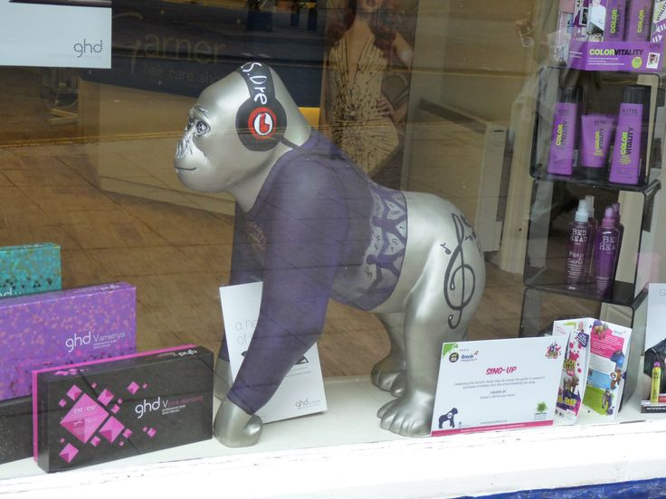 Gorilla in Norwich shop gogogorillas.co.uk/
