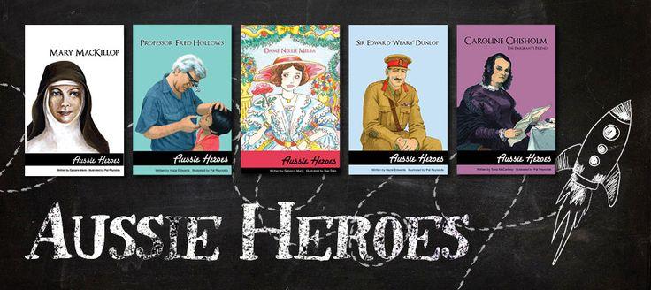 Aussie Heroes series - New Frontier | Teachers & Librarians