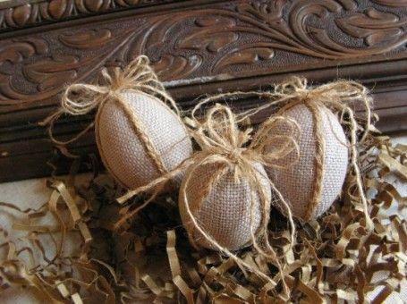 Декор интерьера. Пасхальный декор в деревенском стиле