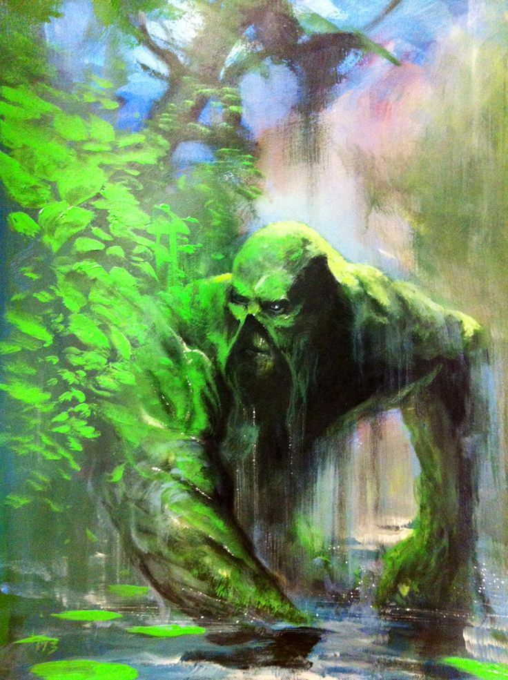 Swamp Thing by Gabriele Dell'Otto #swampthing #dccomics #comic