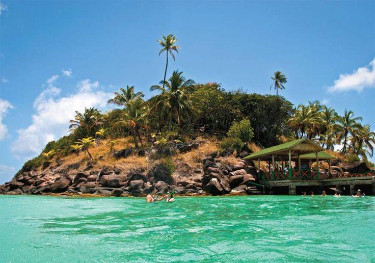 A ilha de Cayo Cangrejo, na Colômbia
