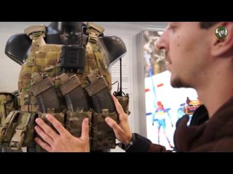 Kalashnikov modular tactical assault vest combat gear with body armour Russia defense industry - YouTube