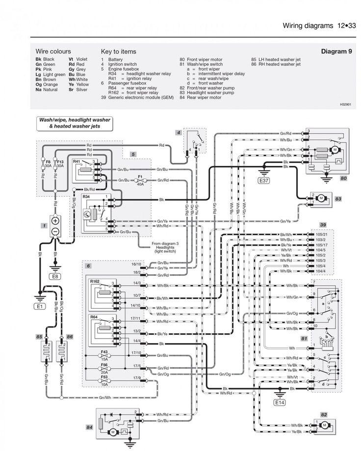 Ford Focus 1.6 Tdci 2009 Wiring Diagram